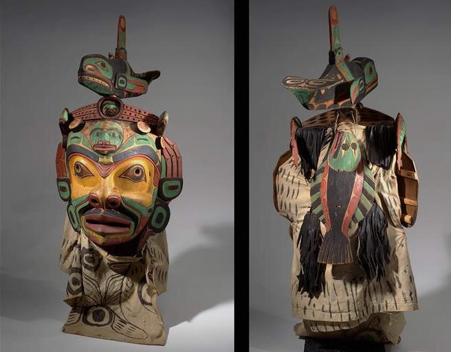 Bob Harris, Kwakiutl. Native Indian Mask
