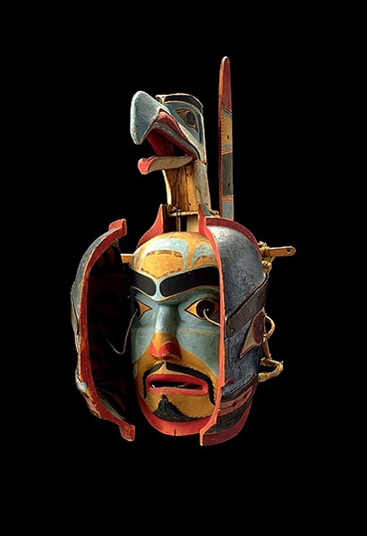 kwakiutl indian mask