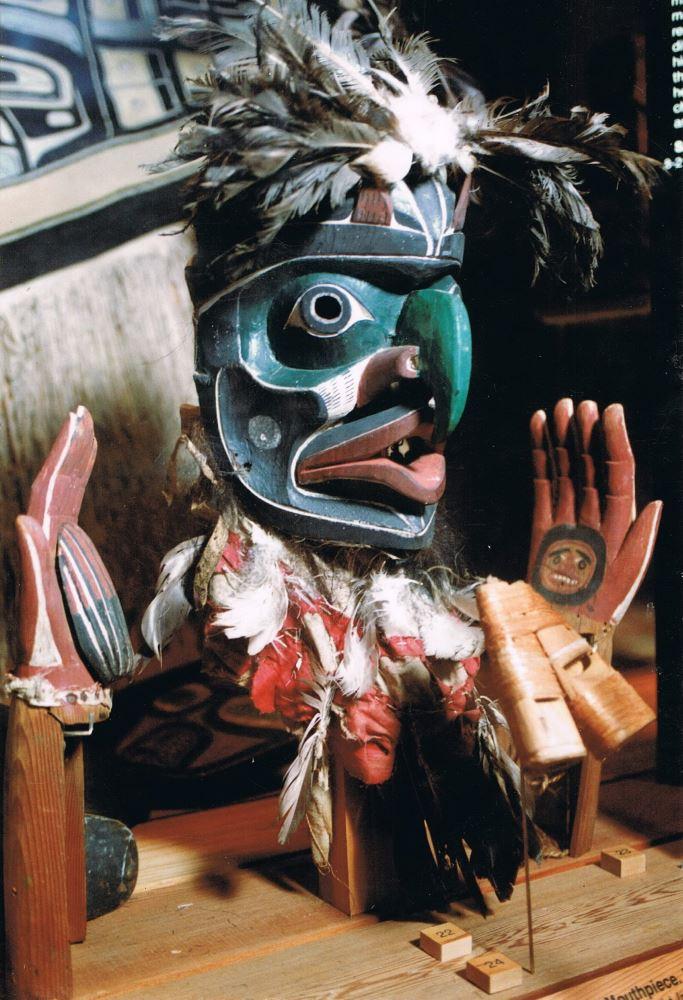 Bob Harris, Kwakiutl. Northwest Native Mask