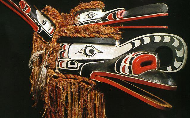 Chief Mungo Martin, Kwakiutl Artist. Crooked Beak Mask